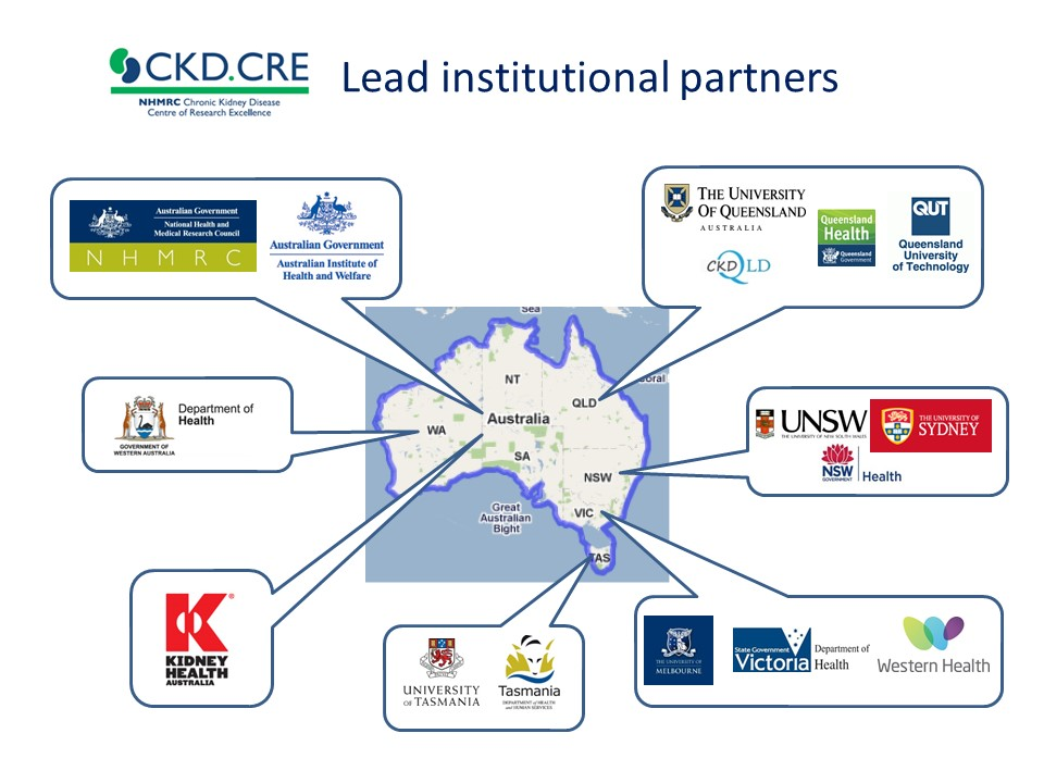 Lead institutional partners